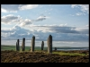 Club Class Colour Prints - Second - Evening Light At Brodgar by Simon Wood