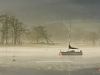 Advanced  Projected Images - HC - Frozen Mooring by Alan Thomson