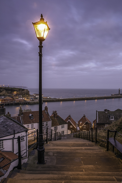 Advanced Colour Prints - First - Whitby Steps by Jeff Saunders (December 2013)