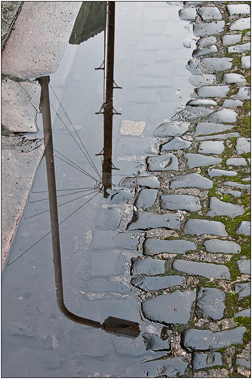 Advanced Colour Prints - HC - Reflection And Cobbles by Tim Booth (February 2014)