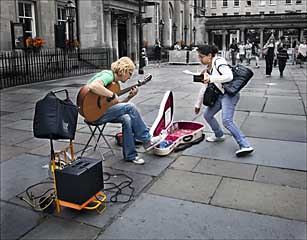 Advanced Colour Prints - HC - The Busker by Pax Garabedian (February 2014)