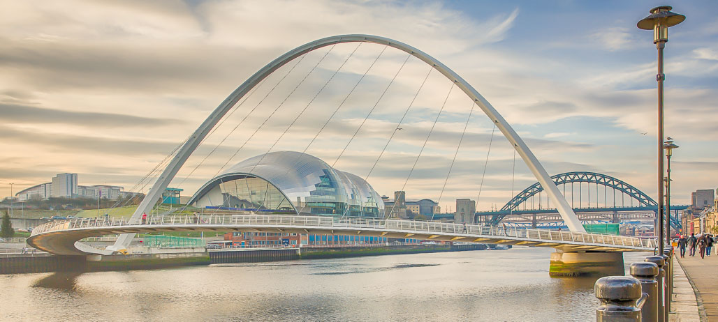 Advanced Colour Prints - Second - Millenium Bridge And Sage by Jeff Saunders (February 2014)