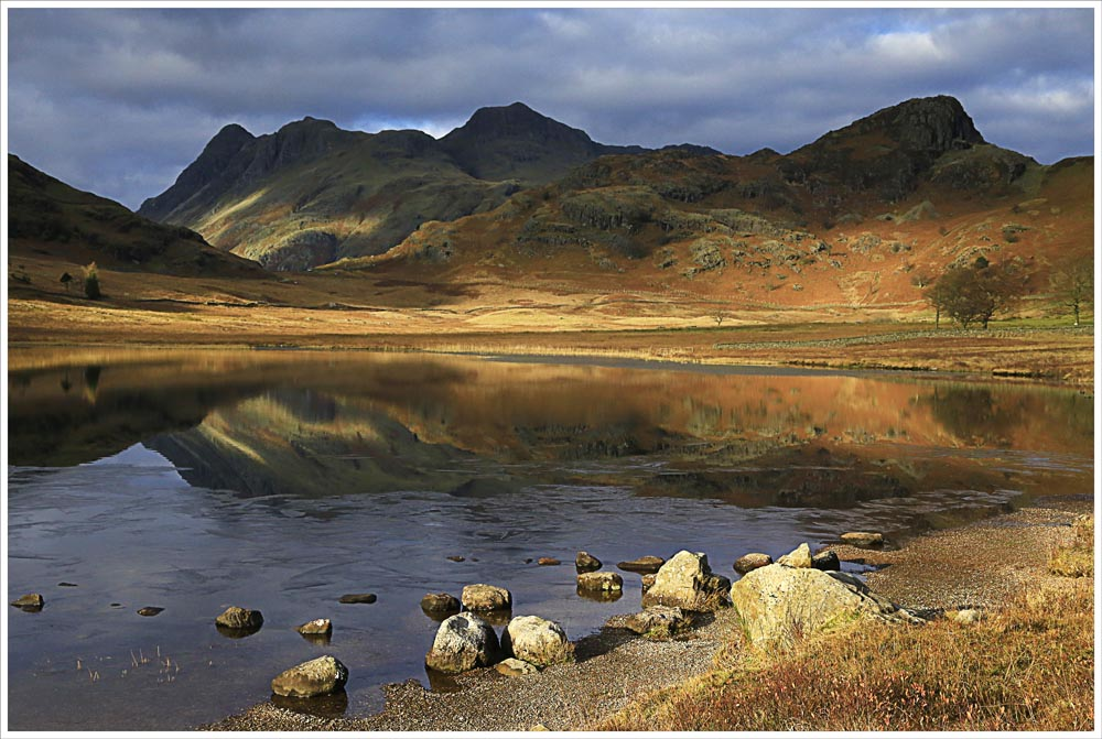 Advanced Colour Prints - Third - Langdales From Blea Tarn by Alan Thomson (December 2013)