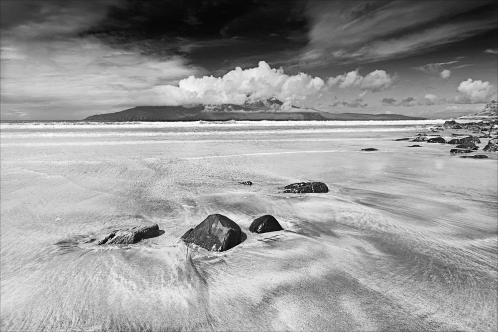 Advanced Monochrome Prints - Second - Incoming Tide by Alan Thomson (October 2013)