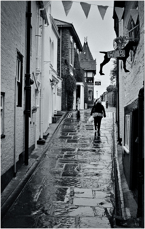 Advanced Monochrome Prints - Second - Wet Day by Tim Booth (February 2014)