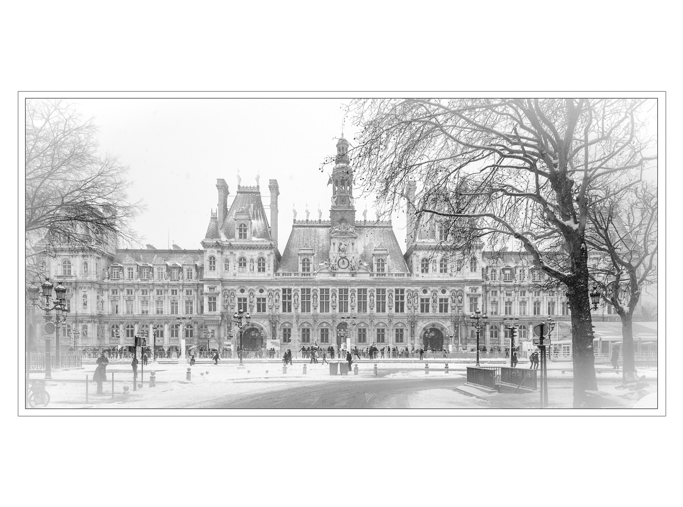 Advanced Mono Prints - HC - Hotel De Ville by Alan Sawyer (January 2015)