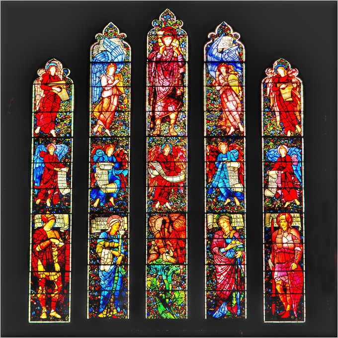 Advanced Projected Images - HC - East Window by Derek Nash (January 2015)