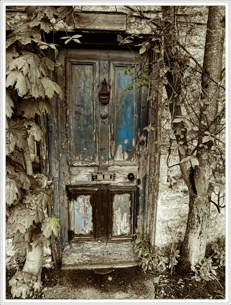 Advanced Colour Prints - First - A Ghostly Door by Lawrence Graham (November2014)