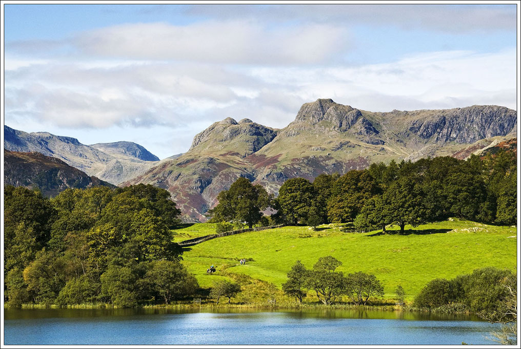 Advanced Colour Prints - Third - Langdale Pikes by Dennis Balmer (October 2014)