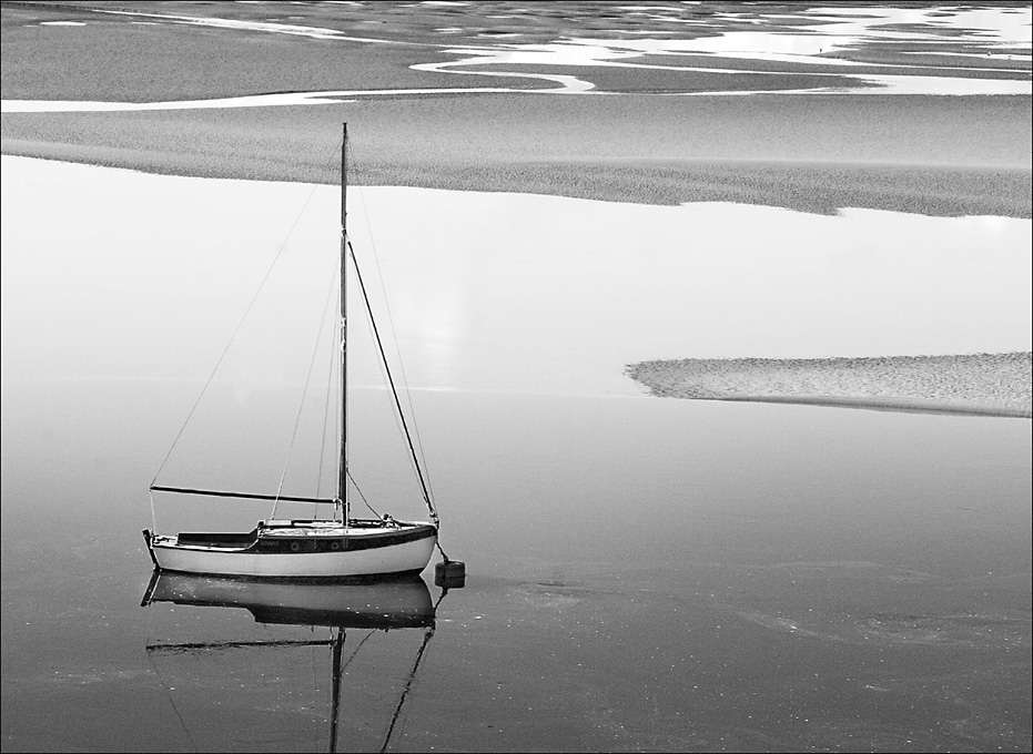 Advanced Monochrome Prints - HC - Low Tide by Pax Garabedian (November2014)