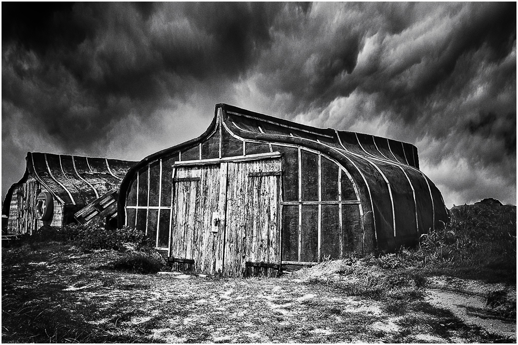 Advanced Monochrome Prints - Third - The Fisherman's Hut by Tim Booth (November2014)