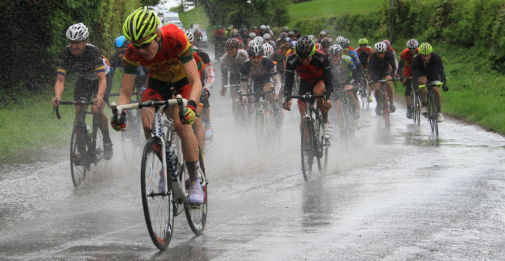 Advanced Projected Images - HC - Wet Day For The Peleton by Brian Hinvest (November2014)