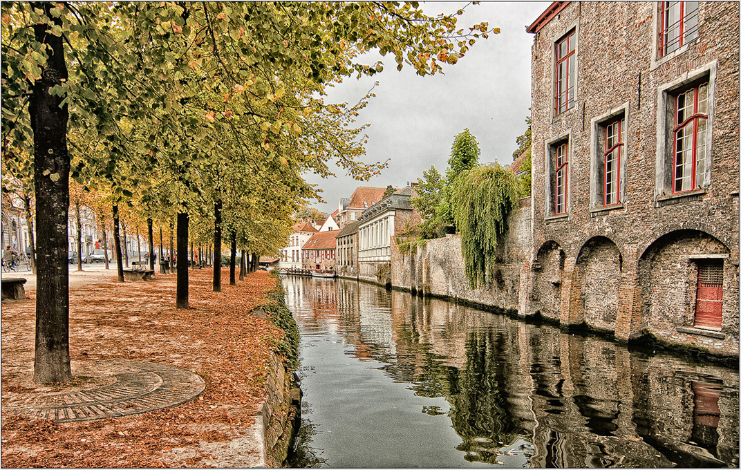 Advanced Projected Images - Third - A Quiet Corner In Bruges by Tim Booth (December 2014)
