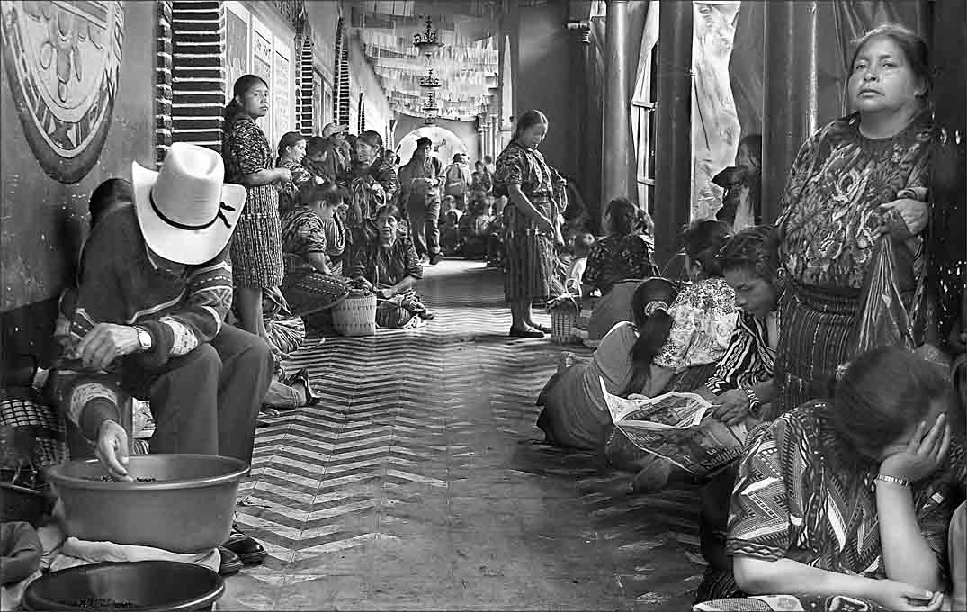 Advanced Monochrome Print - First - The Hospital Queue by Pax Garabedian (October 2015)
