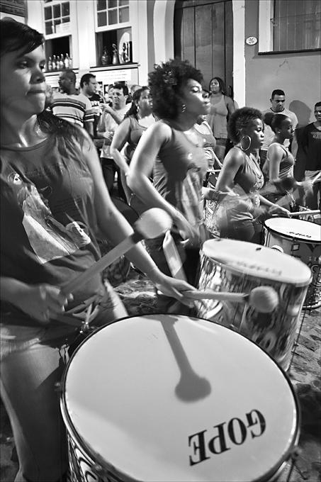 Advanced Monochrome Prints - HC - Girl Drum Band by Pax Garabedian (January 2016)