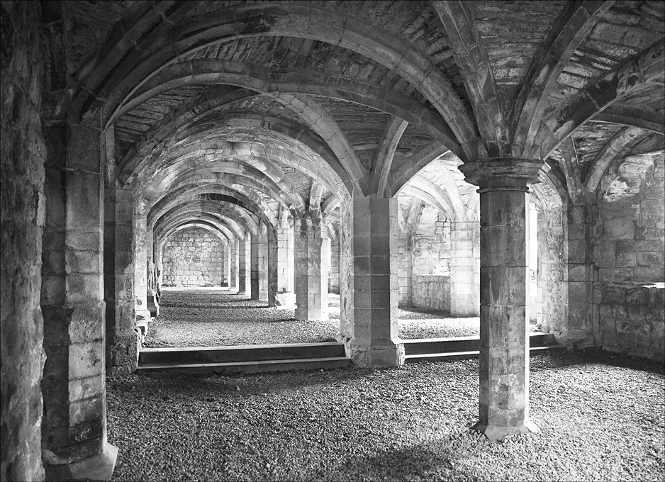 Advanced Monochrome Prints - HC - Lanercost Cloisters by Pax Garabedian (February 2016)