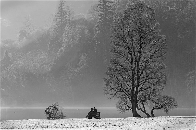 Advanced Monochrome Prints - Second - Together by Alan Thomson (December 2015)