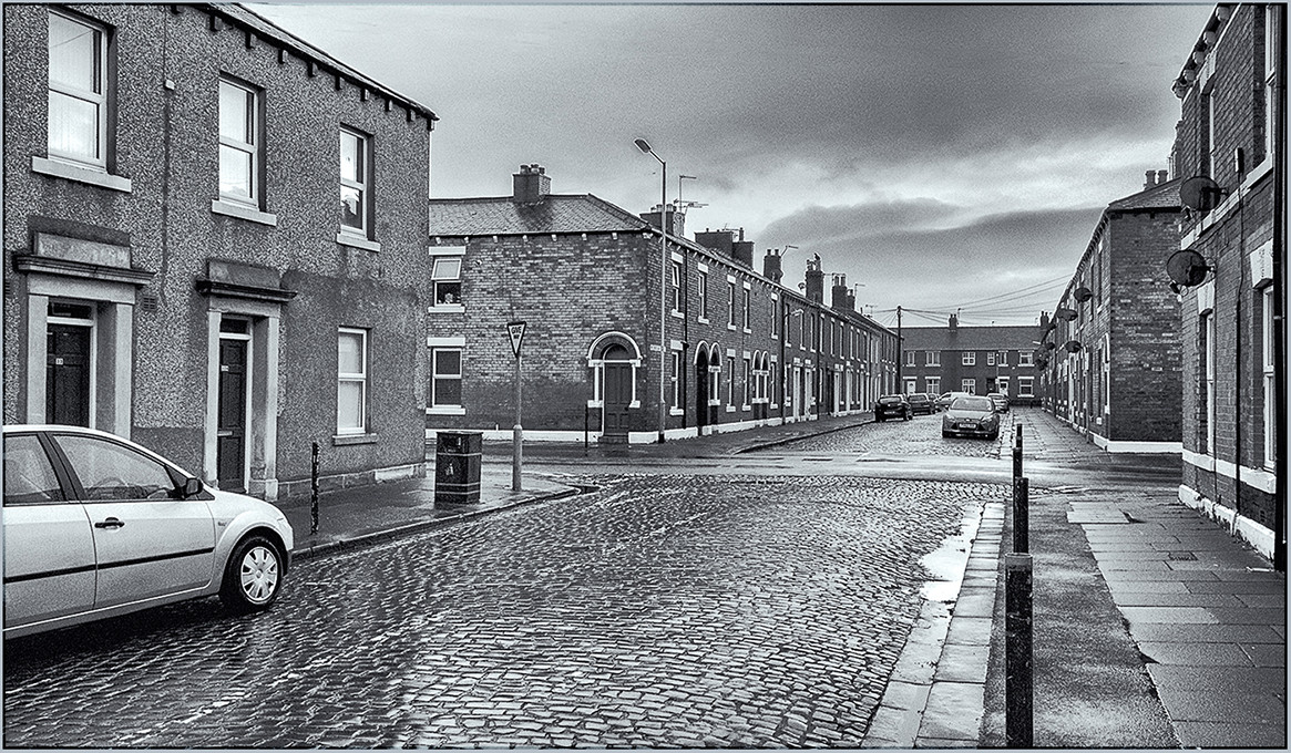 Advanced Projected Images – Second – Deserted Street, Denton Holme by Tim Booth (February 2016)