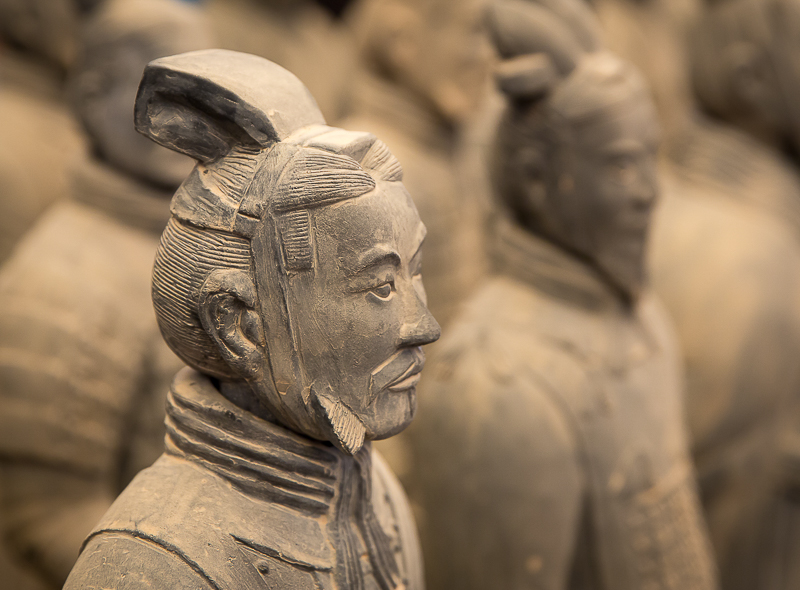 Advanced Projected Images - HC - Terracotta Warrior by Jeff Saunders (January 2016)