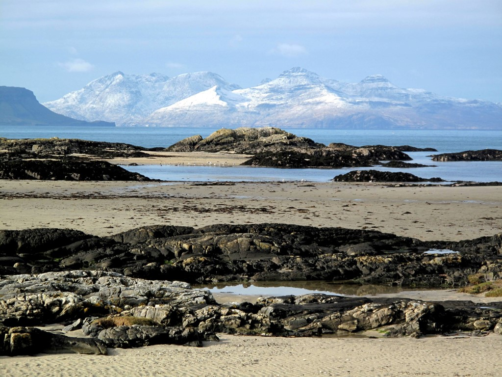 Newcomers Prints - First - Rhum from Arisaig by Rachael Bonington (January 2016)