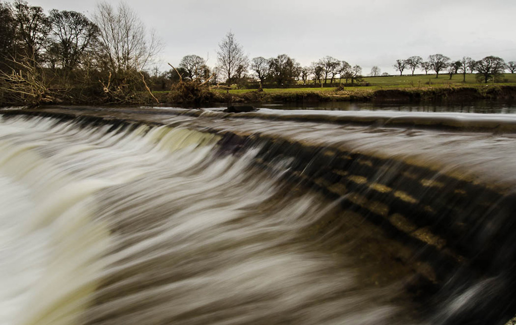 Newcomers Projected Images - HC - Buckabank Weir by Gordon Cumming (February 2016)