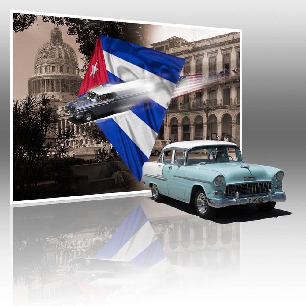 Advanced Colour Prints - Third - Cuban Wheels by Steve McLellan (February 2017)