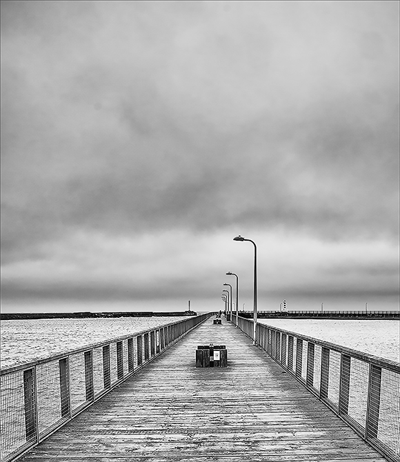 Advanced Monochrome Prints – First – Bleak Day by Tim Booth (October 2016)