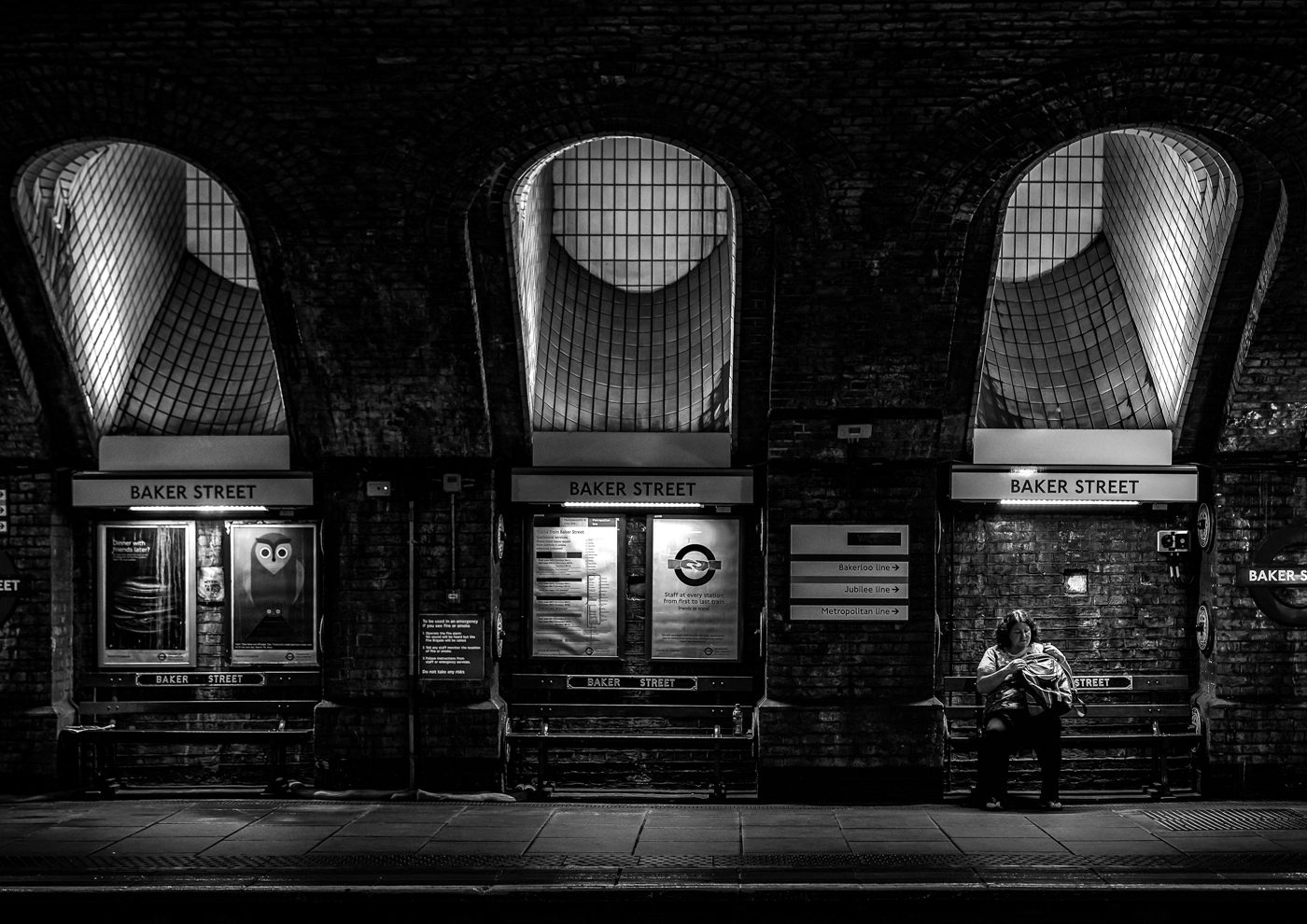 Advanced Monochrome Prints - Third - Baker Street by Steve McLellan (February 2017)
