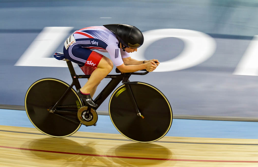 Advanced Projected Images - Second - Laura Trott Following The Black Line by Brian Hinvest (November 2016)