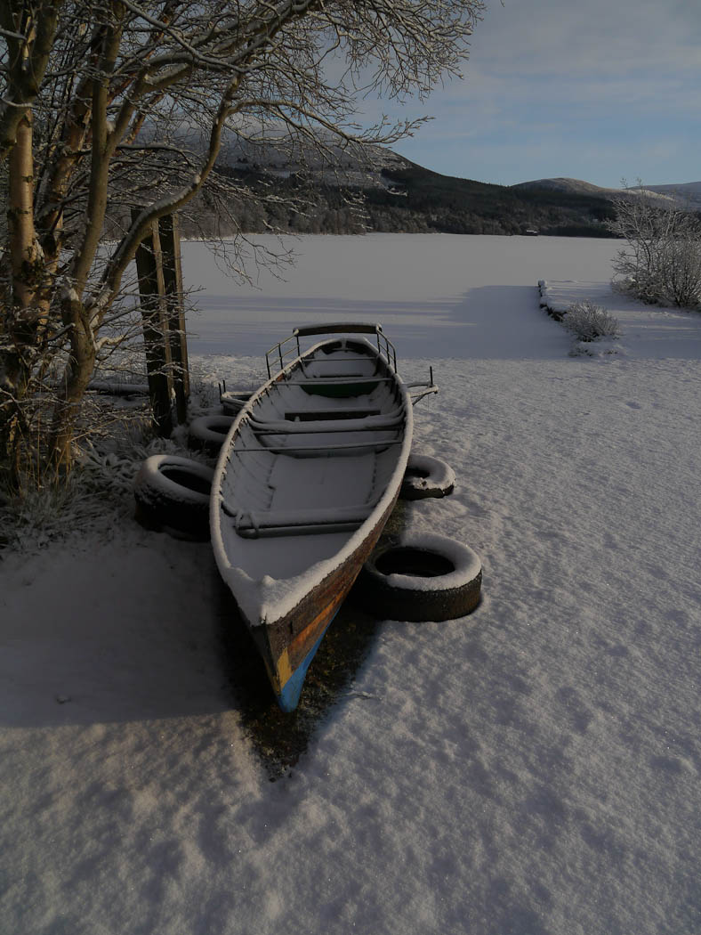 Newcomers Prints - HC - Snow In Boat by Malcolm Iredale (February 2017)