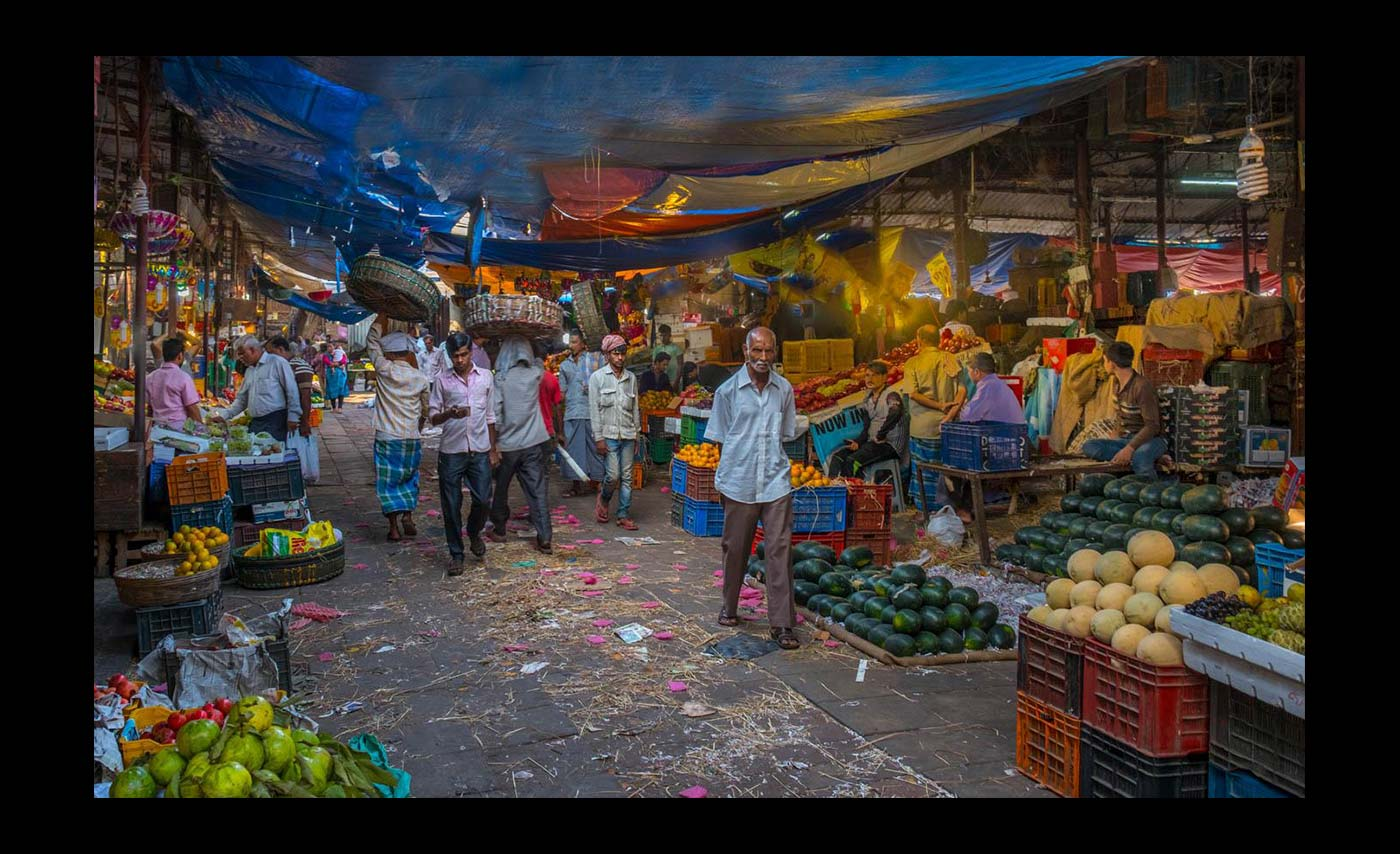 Advanced Colour Prints - Second - Fruit & Vegetables Mumbai by Norman Butler