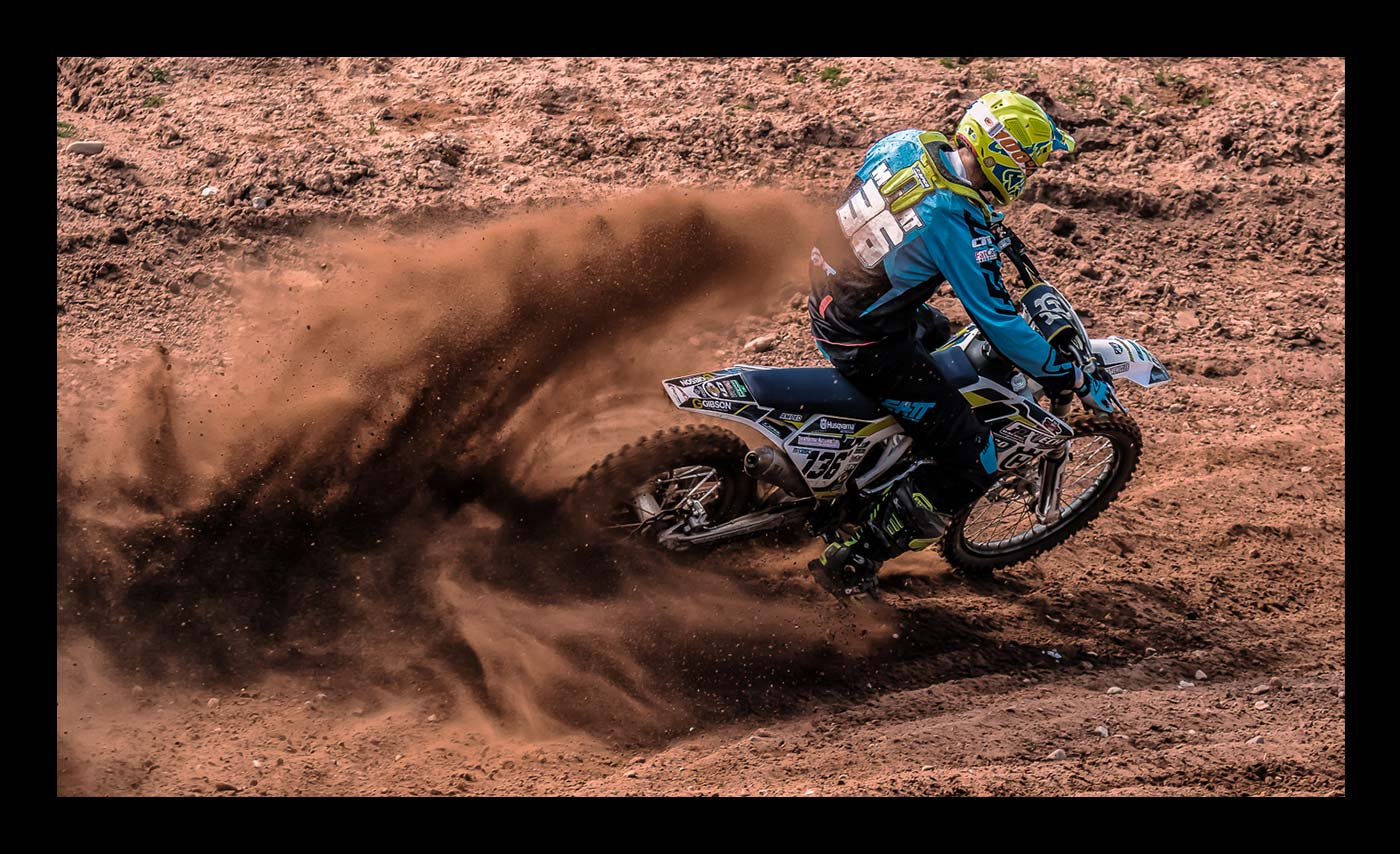 Advanced Colour Prints - Third - Scrambler by Steve McLellan