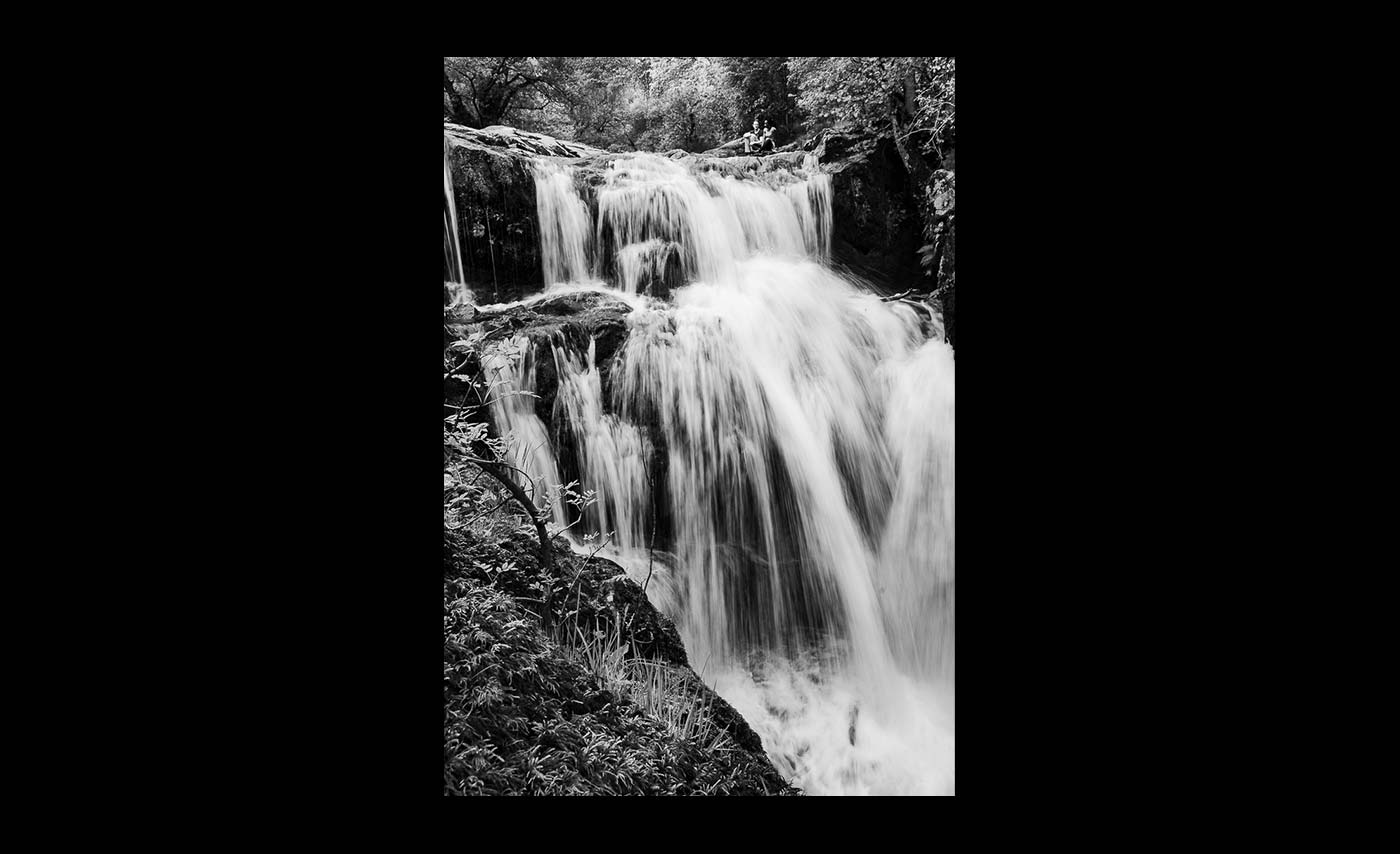 Advanced Mono Prints - Third - Chasing Waterfalls by Brian Graham