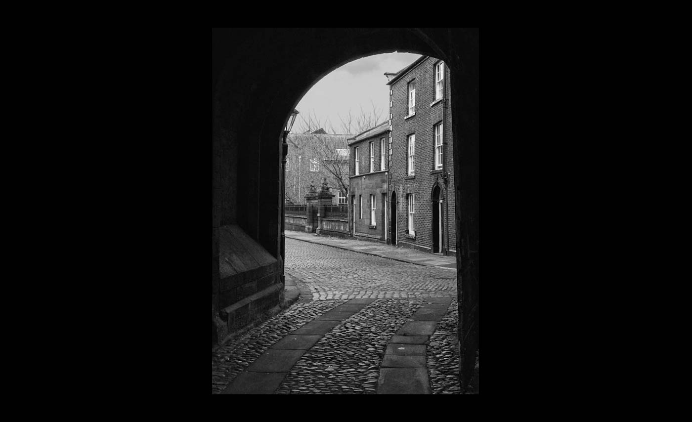 Advanced Monochrome Prints - HC - Abbey Street by Jeremy Griffiths