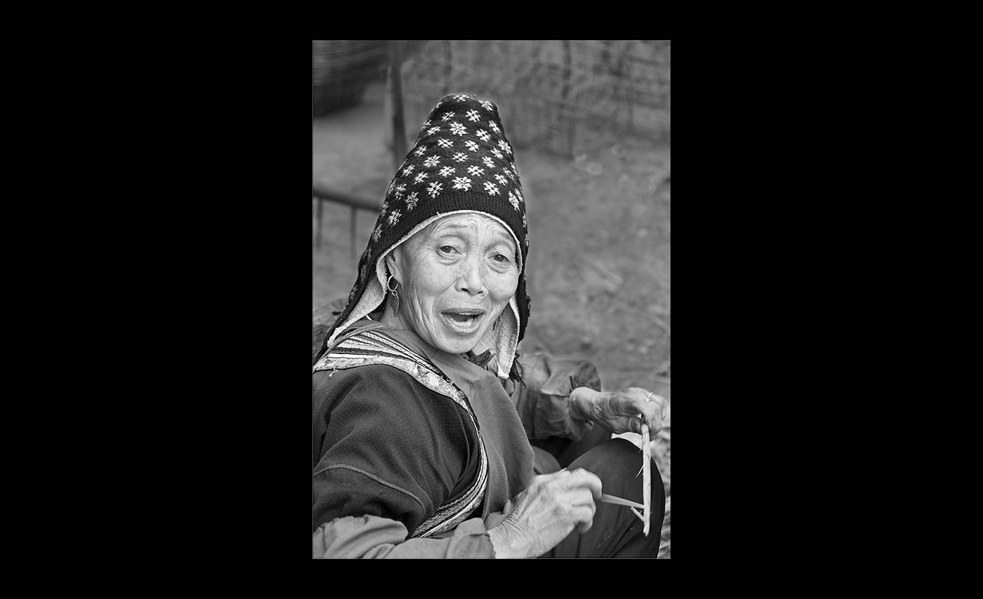 Advanced Monochrome Prints - Second - Bamboo Shoot Seller by Pax Garabedian
