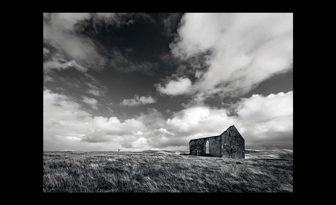 Advanced Monochrome Prints - Third - Sunday Morning At Kilmuir Kirk by Brian Graham