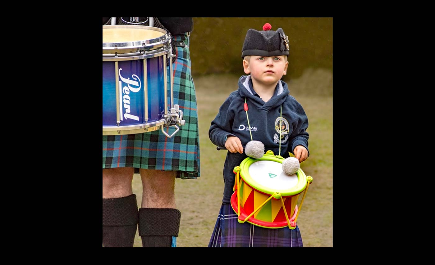 Club Colour Prints - HC - Little Drummer Boy by Trevor Wright
