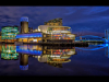Centenary Cup - HC - Evening Lights at Salford Quays - Brian Hinvest