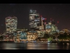 Advanced Projected Digital Image - C - City Of London Lights by Brian Hinvest