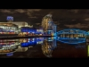 Advanced Colour Prints - Second - Salford Quays by Jeff Saunders