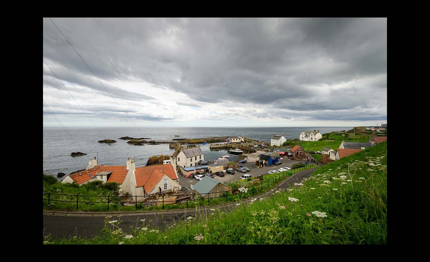 Advanced Colour Prints - C - St Abbs Harbour by Brian Graham