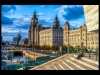 Advanced Colour Prints - C - Liverpool Waterfront by Norman Butler