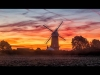 Advanced Class - Colour Prints - Commended - Brian Hinvest Sunrise At Bircham Mill