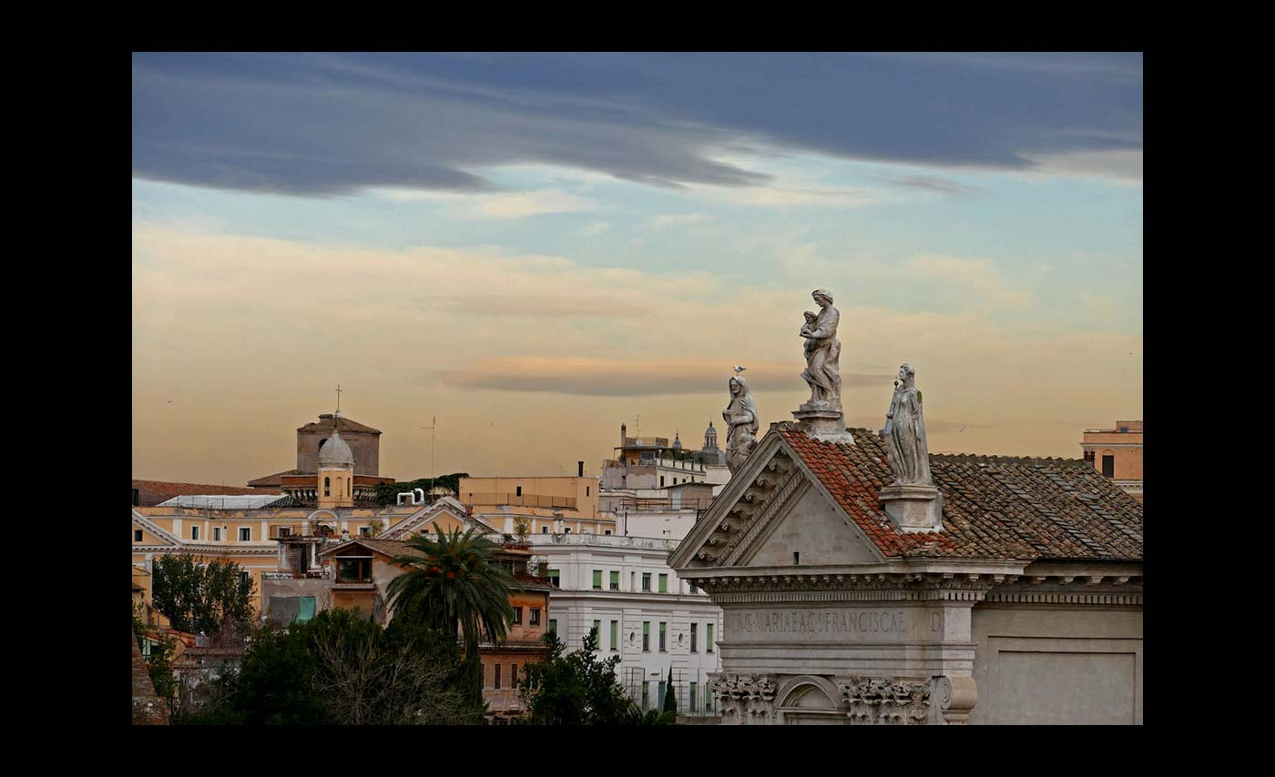 Club Class - PDI - Commended - Patricia Martin - Rome Rooftops at Sunset