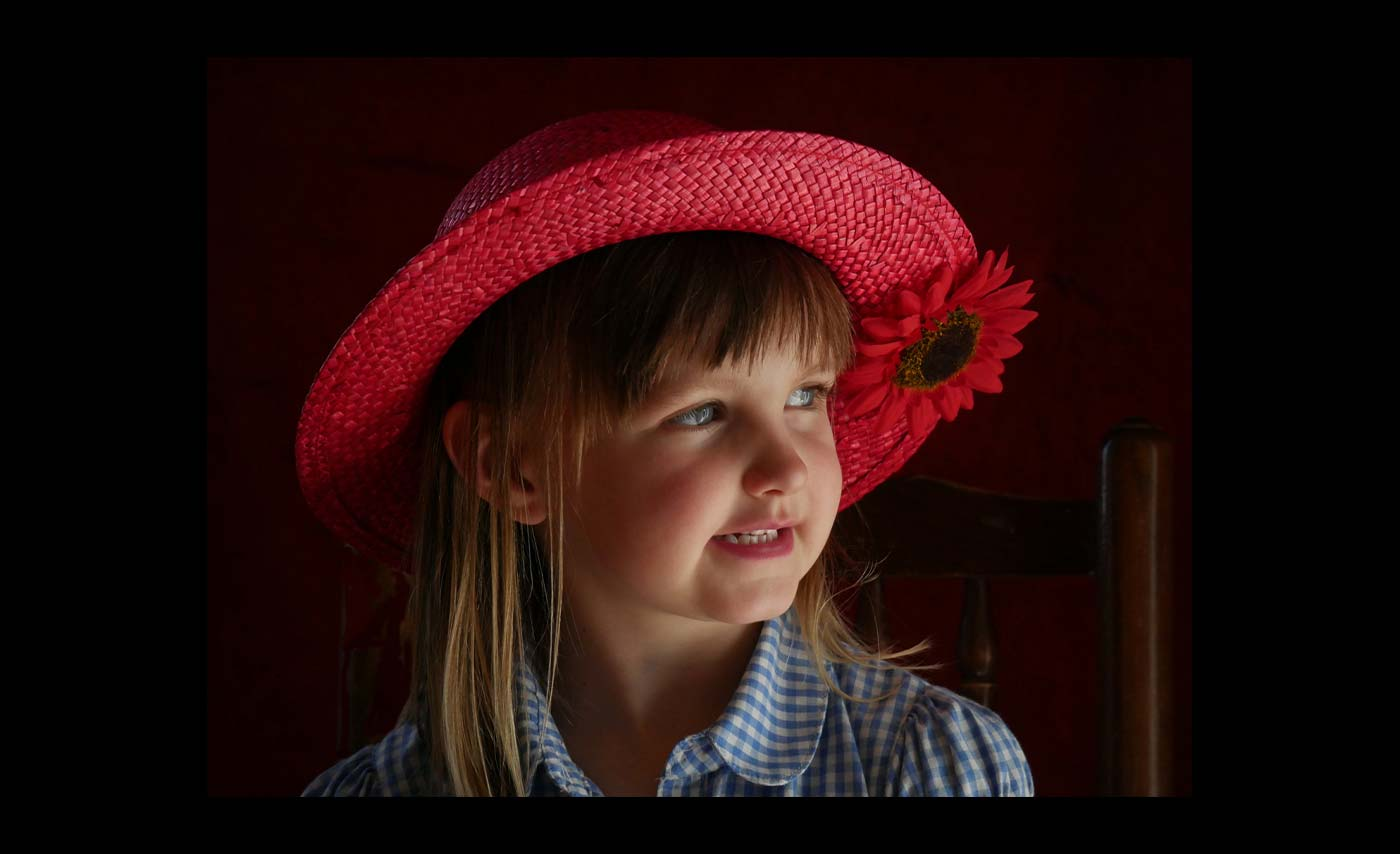 Club Class - Colour Prints - 2nd - Barbara Rowland - Chloe and the Red Hat