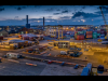 Advanced-Colour-C-Dockland-Scene-Norman-Butler