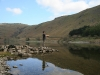 Fishing at Haweswater by Brian Hinvest