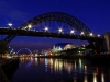 Newcomers Projected Images - First - Tyne At Midnight by Barry Frizell