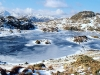 Advanced  Projected Images - HC - Frozen Tarn by Dennis Balmer