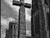 Advanced Monochrome Prints - HC - Durham Cross by Lawrence Graham